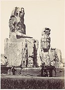 The Statues of Memnon. Plain of Thebes