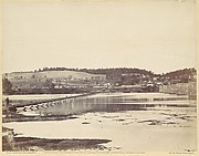 Pontoon Bridge, Across the Potomac, at Berlin, Maryland, November 1862