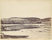Pontoon Bridge, Across the Potomac, at Berlin, Maryland, November 1862