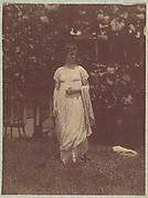 [Mrs. Louis Kentin in Empire Dress]