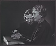 Helen Keller with Polly Thomson