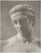 Statue of Diadoumenos. Roman Copy of a Greek Original by Polykleitos