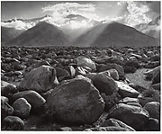 Mount Williamson, Sierra Nevada, from Manzanar, California