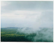 Clouds on East of Alcedo from Rim, Alcedo Volcano, Isabela Island, Galapagos Islands