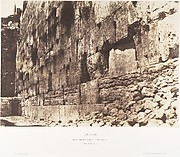 Jérusalem, Enceinte du Temple, Còté Ouest, Heit-el-Morharby
