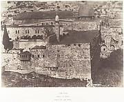 Jérusalem, Enceinte du Temple, Mosquée El-Aksa, angle sud-ouest