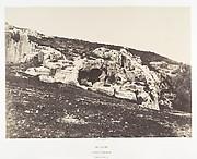 Jérusalem, Vallée de Hinnom, Tombeaux antiques