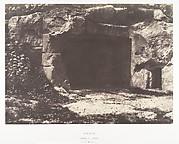 Jérusalem, Vallée de Hinnom, Retraite des Apôtres