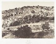 Jérusalem, Vallée de Hinnom, Ensemble du flanc droit