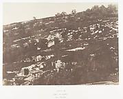 Jérusalem, Vallée de Hinnom, Détails du flanc droit, 1