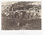 Jérusalem, Village de Siloam, Monolithe de form égyptienne, 1