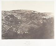Jérusalem, Vallée de Josaphat, Face ouest et nord, 2