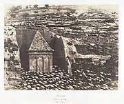 Jérusalem, Vallée de Josaphat, Tombeau de Zacharie