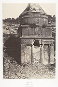 Jérusalem, Vallée de Josaphat, Détails du Tombeau d'Absalon