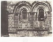 Jérusalem, Saint-Sépulcre, Partie supérieure de la façade