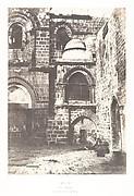 Jérusalem, Saint Sépulcre, vue générale de la Chapelle du Calvaire