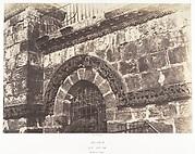 Jérusalem, Saint-Sépulcre, Détails de la façade