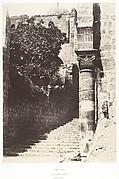 Jérusalem, Saint-Sépulcre, Colonne due parvis