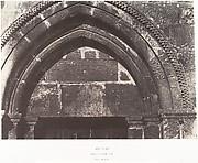 Jérusalem, Église Sainte-Anne, Détails du portail