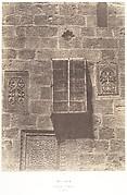 Jérusalem, Couvent Arménien, Ornements, 1