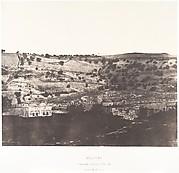 Jérusalem, Mosquée d'Omar, côté est, Intérieur de l'enceinte, 1