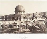 Jérusalem, Mosquée d'Omar, côté nord, Intérieur de l'enceinte