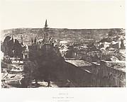 Jérusalem, Mosquée d'Omar, côté ouest, Intérieur de l'enceinte