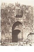 Jérusalem, Porte Saint-Étienne, Vue extérieure