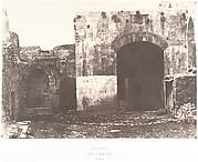 Jérusalem, Porte Saint-Étienne, Intérieur