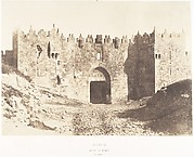 Jérusalem, Porte de Damas, Vue extérieure