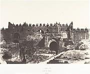 Jérusalem, Porte de Damas, Intérieur