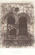 Jérusalem, Escaliere arabe de Sainte-Marie-la-Grande, Détails de la partie supérieure
