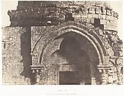 Jérusalem, Détails de la porte d'un Dôme sépulcral