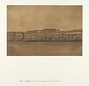 Vue de Djebel-el-teir et du Convent de la Poulie