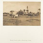 Mosquée d'El-Arif et Tombeau de Mourad-Bey, à Souhadj