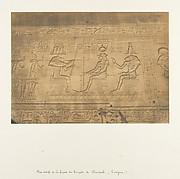 Bas-reliefs de la façade du Temple de Dendérah (Tentyris)