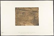Sculptures extérieures du Sanctuaire de granit du Palais de Karnac (Thèbes) (Philippe-Aridée conduisant la Barc de Mauth)