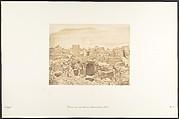 Ruines d'une ville chrétienne, à Médinet-habou (Thèbes)
