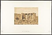 Vue du Temple de Tafah (Taphis)