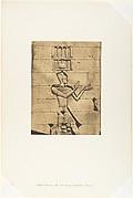 Ptolémée-Cæsarion - Bas-relief du Temple de Kalabcheh (Talmis)