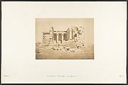 Vue du Temple de Maharakka (Hiéra-Sycaminos)