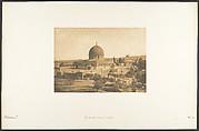 La Mosquée d'Omar, à Jérusalem