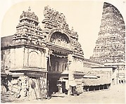 Entrance to the Temple of Minakshi in the Great Pagoda