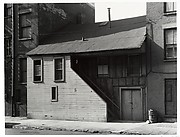 [Oldest Frame House in Manhattan, Weehawken Street]