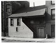 [Oldest Frame House in Manhattan, Weehawken Street]
