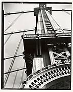 Manhattan Bridge, Looking Up