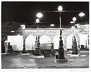 [Sobol Brothers Gasoline Station at Night]