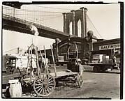 Brooklyn Bridge, With Pier 21, Pennsylvania R.R.