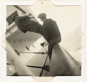 [Two Men on Deck of the M.S. Brigmanger, Pacific Ocean]