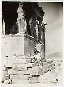 [The de Meyer's on the Acropolis]